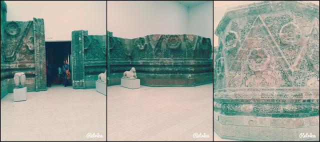 Fachada de Mushatta. Museo de Pérgamo.